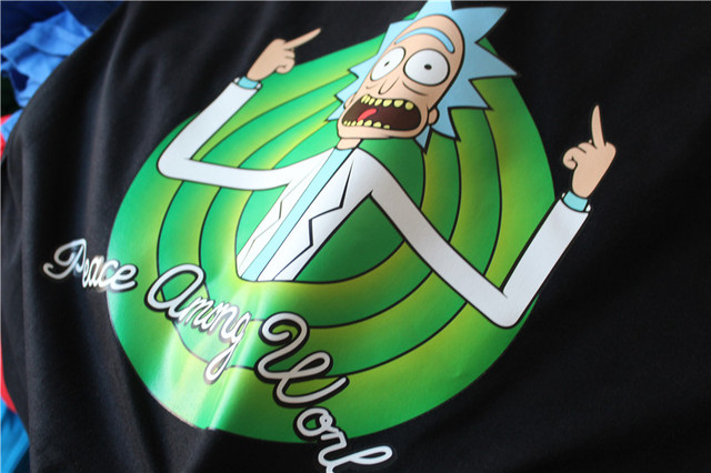 Rick and Morty- Peace Among Worlds T-Shirt
