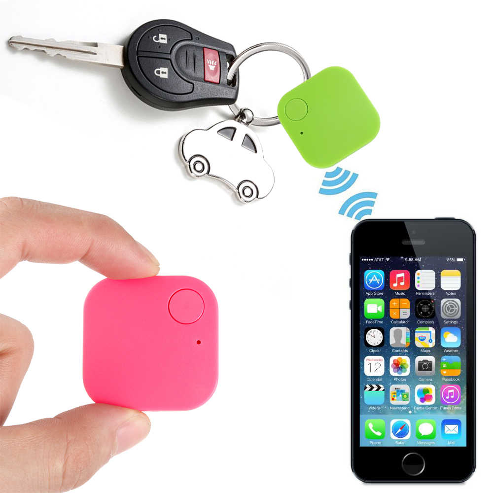 Panas Mobil Motor Smart Mini Bluetooth GPS Tracker Kids Pets Dompet Kunci Alarm Locator Realtime Finder Perangkat Elektronik Accessorie