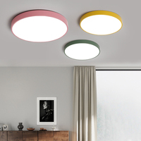 Ultra thin Ceiling Lights Colorful LED Ceiling Light Bed Room Chandelier Ceiling led ceiling lights dimmable plafon led