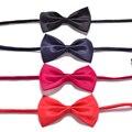 Crianças Ajustável Bow Tie Meninos Bonitos Crianças Acessórios Cor Sólida Bowknot Para O Casamento Lindo Laço Crianças