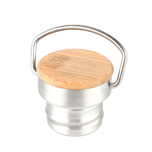 Stainless Steel x Bamboo Reusable Canister