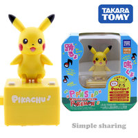 Takara Tomy Pop'n step Pokemon Pikachu Talking Dancing Toy Figure
