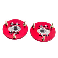 Red Front Camber Plates for BMW E36 3 Series 318 320 323 325 M3 318i 323i 325i 328i Upper Top Mount