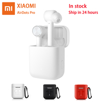 Xiaomi Airdots Pro Earphone Bluetooth Headset Stereo ANC Switch ENC Auto Pause Tap Control Wireless Earbuds