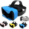 VR Shinecon 3.0 Google Cardboard Virtual Reality Immersive Box Glasses Head Mount Helmet Movie Game for 4.7-6 inches Smartphone