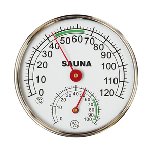 5-inch Dial Thermometer Hygrom