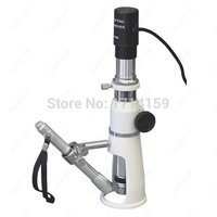 Portable Shop Measuring AmScope Supplies 100X Portable Shop Measuring Microscope 2MP USB Camera
