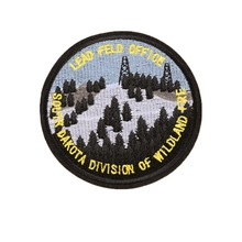 Custom Embroidery business Company Campaign Camp logo Emblem Patch Welcome to customize
