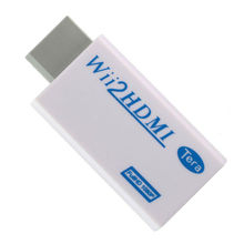 Wii к HDMI 720 P/1080 P Масштабирование адаптер конвертер с 3.5 мм аудио Выход Бесплатная доставка