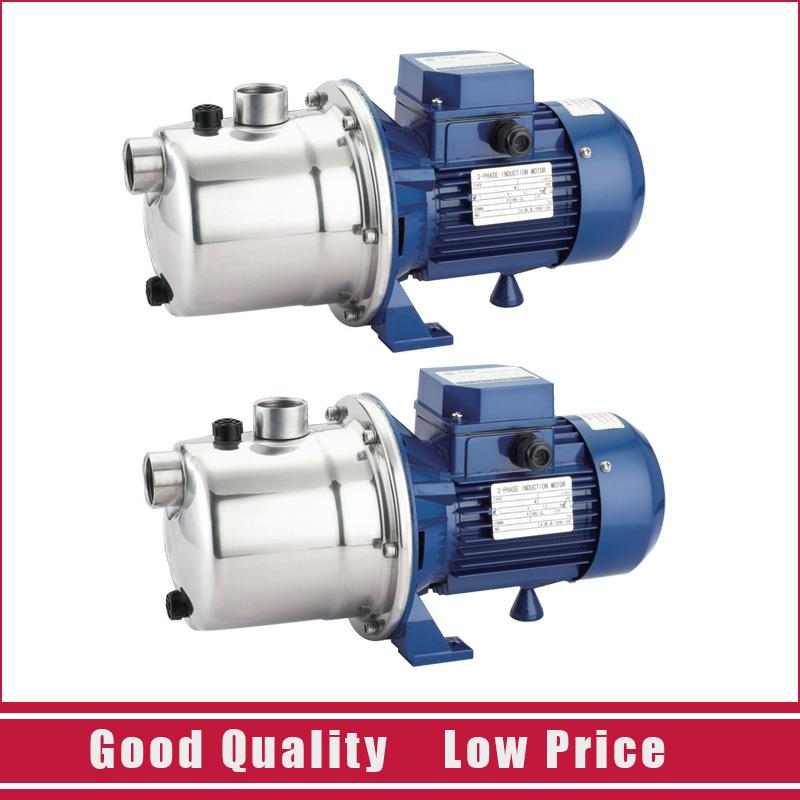 SZ037 Stainless Steel Water Jet Pump Centrifugal Water Pump 0.37KW 220V/50HZ Self Priming Booster Pump 1 2hp 220v 50hz single phase small stainless steel centrifugal water pump sanitary pump beverage pump dishwasher pump