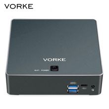 VORKE V2 Plus Mini PC 128GB SSD 1600MHz 2.5GHz RAM 8GB Intel Core I7-7500U WIFI IEEE 802.11 ac Gigabit LAN HDMI USB 3.1 Type-C