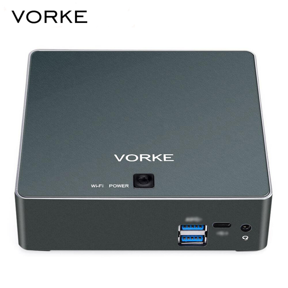 VORKE V2 Plus Mini PC 128GB SSD 1600MHz 2 5GHz RAM 8GB Intel Core I7 7500U