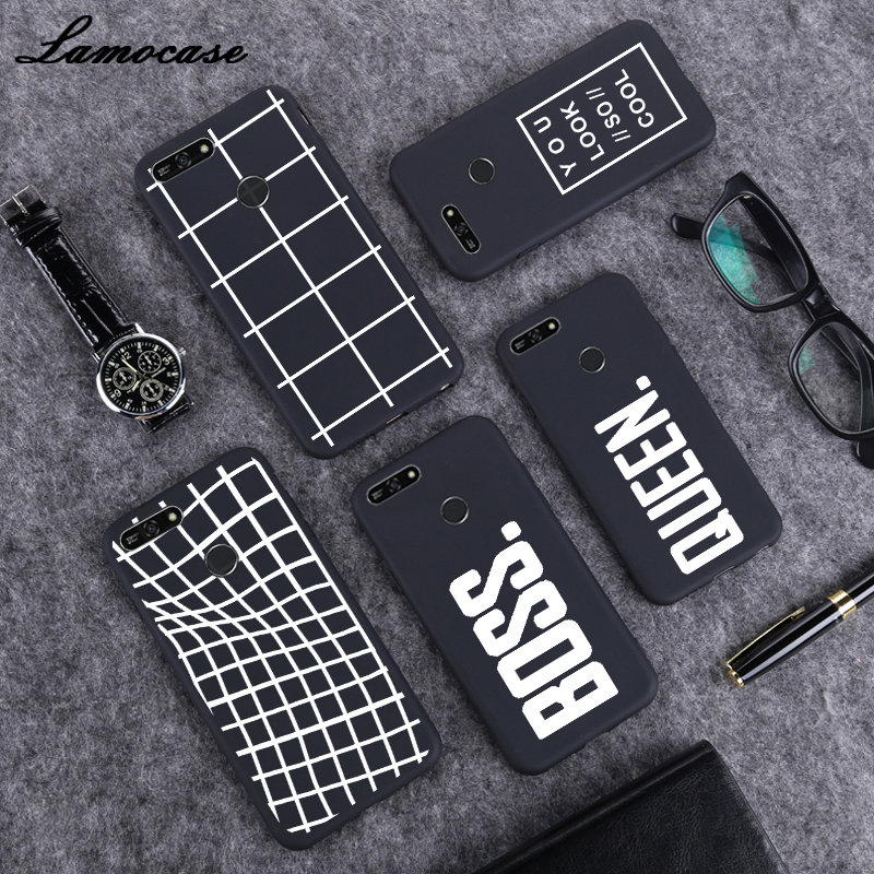 For <font><b>Huawei</b></font> Y6 2018 Case <font><b>Huawei</b></font> Y6 Prime 2018 Case Soft <font><b>Silicone</b></font> Phone Case For <font><b>Huawei</b></font> Y6 2018 Y 6 Y6Prime <font><b>Y5</b></font> Y9 <font><b>2019</b></font> P Smart image