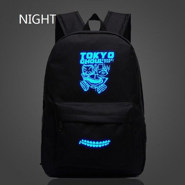 Tokyo Ghoul Luminous Backpack Oxford Bags