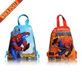 20pcs Spiderman Hot Cartoon Drawstring Backpack Bags 34*27CM School Furniture Non-Woven Fabric Party & Candy Bags Party Favors
