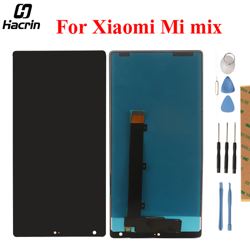 For Xiaomi Mi Mix LCD Display + Touch Panel Screen Digitizer Assembly Replacement For Xiaomi Mi Mix Pro Mobile Phone + Tools