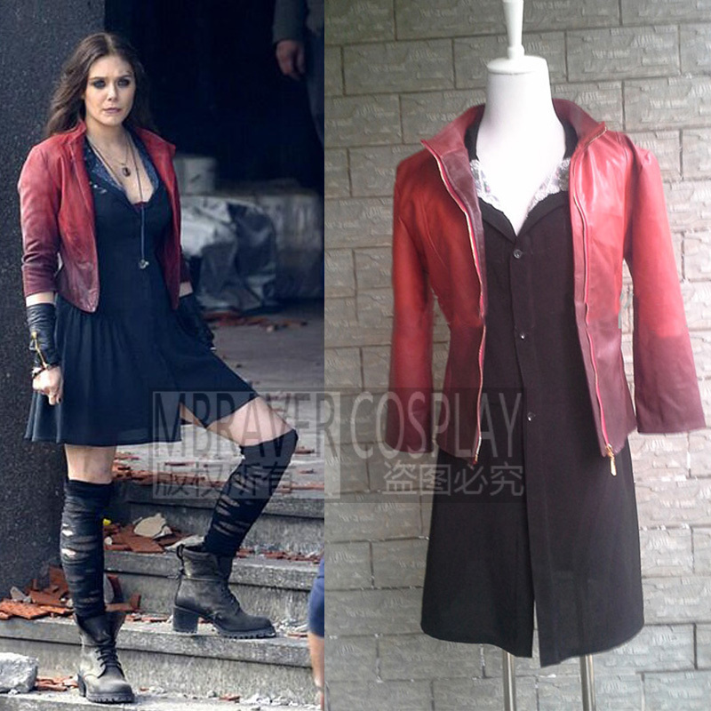 New Avengers: Age of Ultron Wanda Maximoff Scarlet Witch Cosplay Costume (China) - Online Buy Wholesale Wanda Scarlet Witch Costume From China Wanda