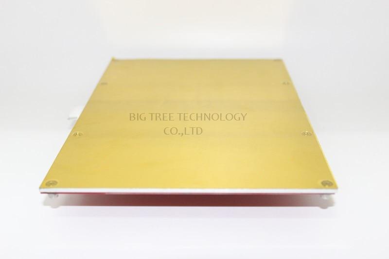 2 in 1 PCB Board RepRap mendel PCB Heated Bed MK2B for Mendel 3D Printer Hot Bed 150*230mm 12V 24V Heatbed