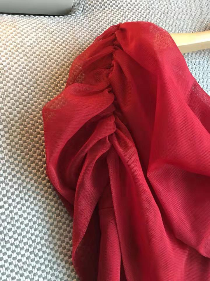 Nouvelle Mode D03473 Printemps Luxe Qualité De Design Marque 2019 Robe Supérieure Partie Femmes Style Européenne qETx6Zw5