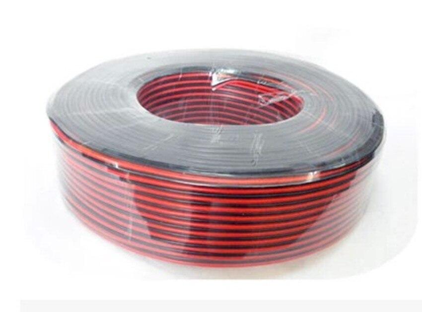 2*0.16mm2 Speaker Wire Red Black Copper Clad Aluminum Horn Line ...