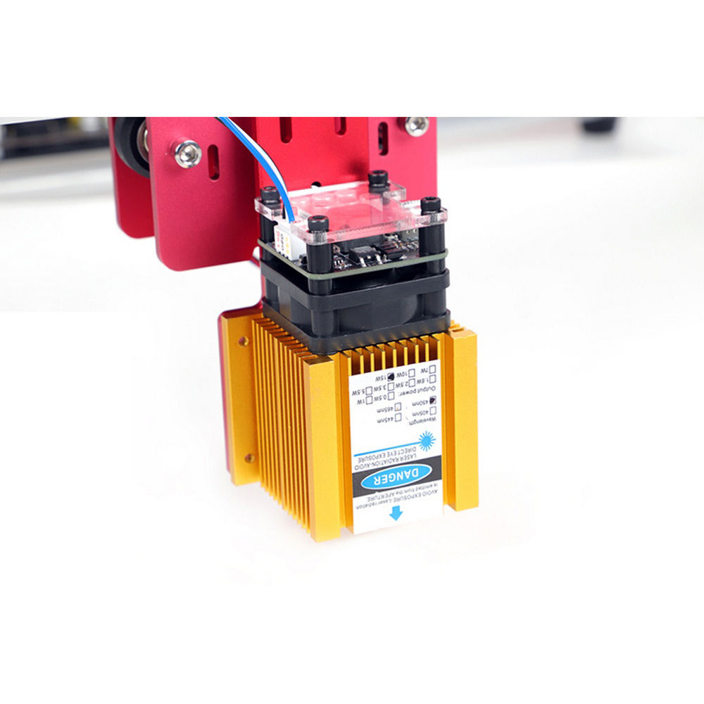 CNC Laser Engraver Cutter Mini Engraving DIY Machine 45 45cm Laser Cutter Engraving Machine Laser Cutting Machine EU Plug in Wood Routers from Tools