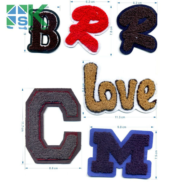 2016 Latest design English Letters Love C M B R Embroidery Badge Iron On Patch 6Style Fashion Towel cloth patches for sale ...