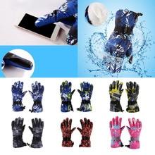 Winter Sports Warm Windproof Waterproof Ski Gloves Motorcycle Snow Snowboard For Men Women