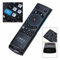New F10 Pro Wireless Remote Control Fly Air Mouse Keyboard Mic Speaker For TV BOX