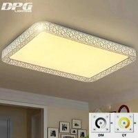 Remote Control LED Ceiling Lights Indoor Lighting Luminaria Abajur Modern Ceiling Lights For Living Room Lamps
