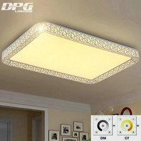 Remote Control LED Ceiling Lights Indoor Lighting Luminaria Abajur Modern Ceiling Lights For Living Room Lamps