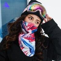 Women 2019 New Winter Warm Ski Snowboard Motorcycle Outdoor Sport Full Face Mask Bike Snowboard Triangular Scarf Skiing Mask