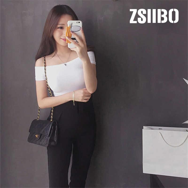 fae21efe315be8 Off The Shoulder Women blouse Basic 2019 Summer Sexy Korean Beach Tops  Short Sleeve Plus Size