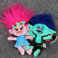 1pcs 24cm Trolls Poppy Branch stuffed plush toy pendant toy