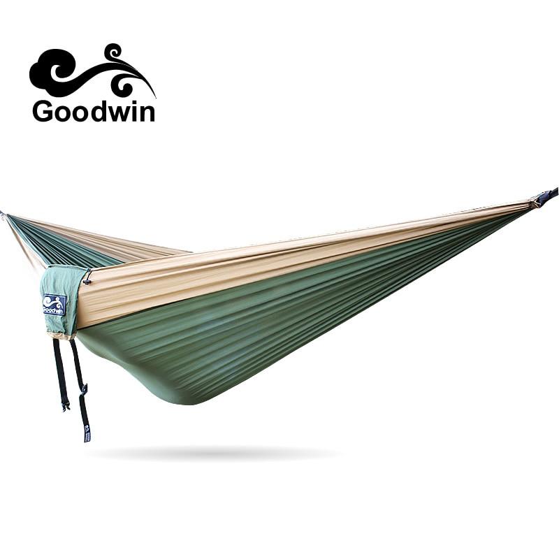 1Pcs Brand New Garden Outdoor Hammock Sleeping Bed Portable Travel Camping Nylon Hang Mesh Net portable outdoor traveling camping parachute nylon fabric sleeping bed hammock