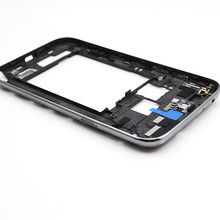 New Gray and White Original For Samsung Galaxy Note II 2 N7100 Middle Frame Housing Chassis Bezel Frame Free shipping !!!
