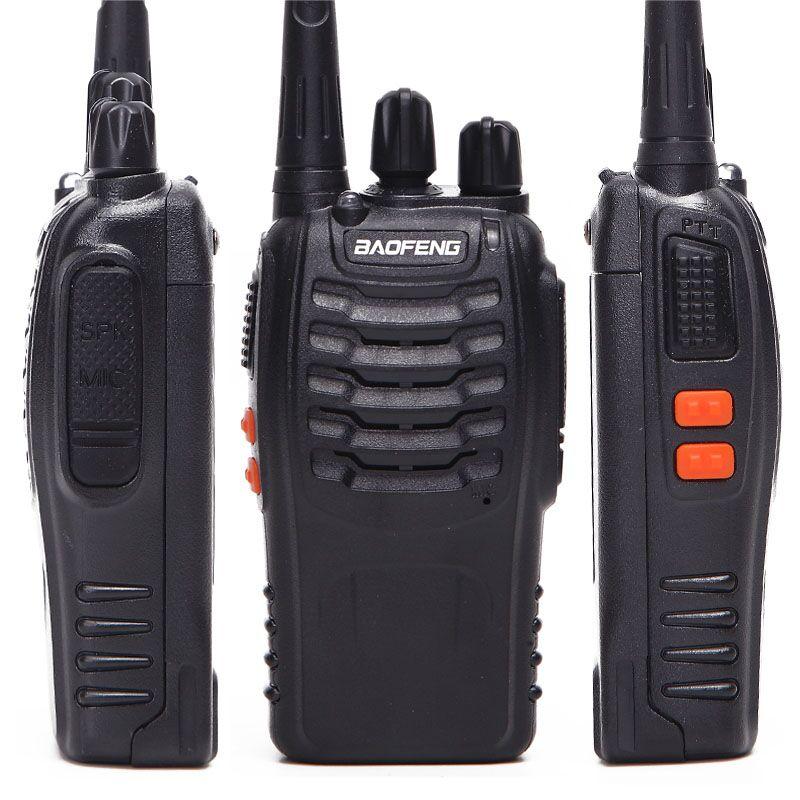 Image 2 - 2/4Pcs Baofeng BF 888S Walkie Talkie UHF A Due Vie Radio BF888S  Radio del Palmare 888S Comunicador Transceiver Trasmettitore    auricolari-in Walkie-talkie da Cellulari e telecomunicazioni su