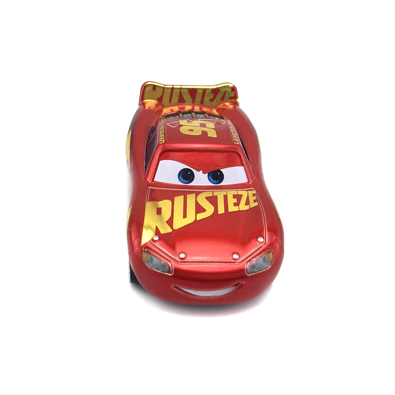 Disney Pixar Cars 3 Rust Eze Racing Center Lightning Mcqueen Metal