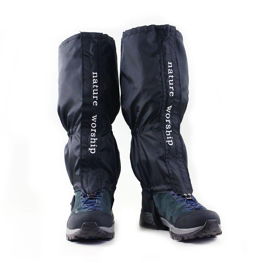 1 Paia Esterna Impermeabile Escursionismo Camminare Arrampicata Caccia Neve Legging Ghette Ghette Da Sci Per Uomini E Donne