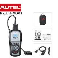 새로운 Autel 자동 링크 ML619 수/OBD2 + ABS/SRS 스캐너 꺼집니다 엔진 빛 (MIL) ABS/SRS 경고 조명 더 AL619