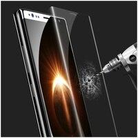 USAMS US-BH369 Curvo 3D em Tamanho Real de Vidro Temperado Protetor de Tela para Samsung Galaxy Note 8 SM-N950-Transparente