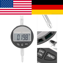 shahe 25 4mm 1 digital dial indicator 0 01 mm electronic dial indicator gauge 0-12.7mm Range Gauge Digital Dial indicator Accuracy Tool 0.01mm/0.0005 Tester Tools lathe measurement indicator