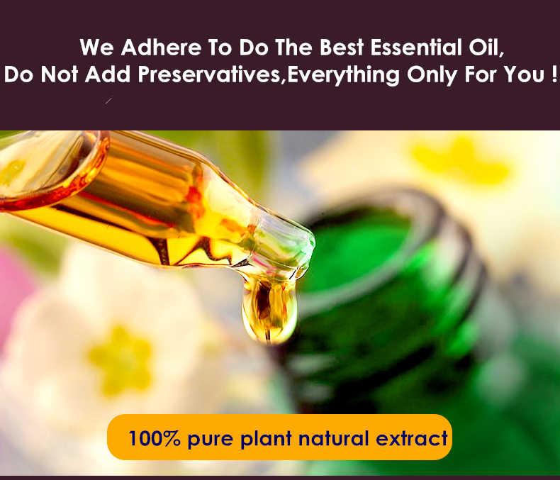 Dimollaure Ylang Olio Essenziale di cura della pelle SPA massaggio Ritardo invecchiamento alleviare lo stress Aromaterapia Lampada di Fragranza Profumo di olio essenziale della pianta