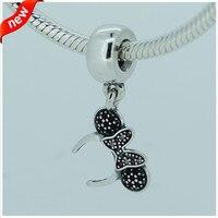 Genuine Pandulaso 925 Sterling Silver Beads Fits Bracelet Charms Headband Silver Charm Beads For Women DIY