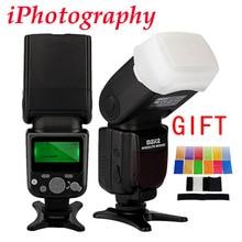 M EIKE MK-930 II MK 930 IIจอแอลซีดีGN58แฟลชS Peedliteเดียวจุดf lashสำหรับCanon Nikon Pentax Olympus DSLR + d iffuser +กรอง