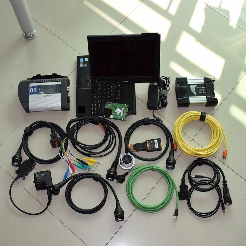 2018,12 V Icom A2 Software Für Bmw Icom Nächsten Und Mb-stern Sd Sd C4 + Laptop X200t Für Thinkpad Diagnose Pc Bereit Zu Verwenden