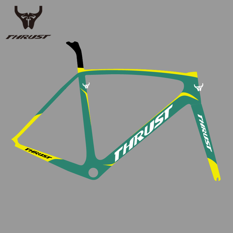 Carbon Road Frame 2018 Carbon Bike Frame 700C T1000 Carbon Fiber UD Matte V Brake Bicycle Frame BSA BB30 PF30 49 52 54 56 58cm стоимость