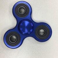 Fidget Spinner Hand Spinner Desk Finger Spin Spinning Top EDC Sensory Aluminum Alloy Toy Anxiety Stress
