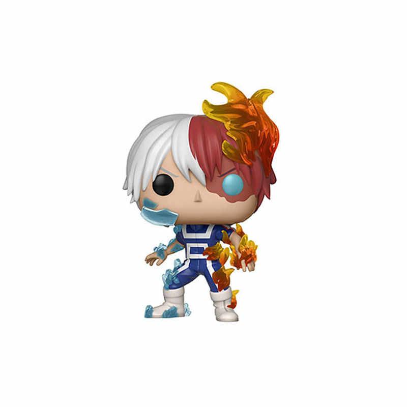 FUNKO POP Original Meu Herói Academia Amzing Heros & Todoroki Action Figure Collectible Modelo Brinquedos para Crianças presente de Aniversário