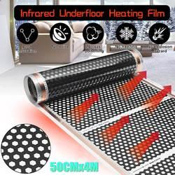 50 CM * 4 M Pavimento A Raggi Infrarossi Riscaldamento a pavimento Film A Nido D'ape Reticolato 220 V Per Camera Nuovo Arrivo