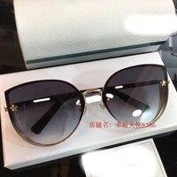 2019 Роскошные Подиумные Солнцезащитные очки женские брендовые дизайнерские солнцезащитные очки для женщин Carter очки Y0130